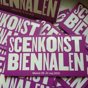 Swedish scenkonst biennalen Malmö 2015